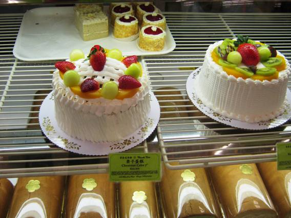 Cakes and bakery at Grand Asia Market in Raleigh- NC Triangle Dining
