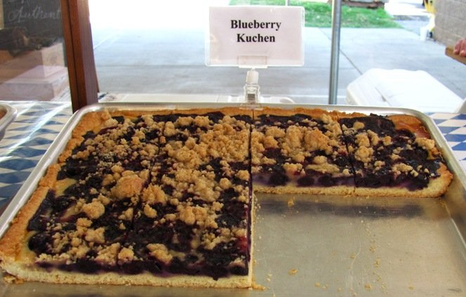 Annelore's pastries at NC State Farmers Market in Raleigh- NC Triangle Dining