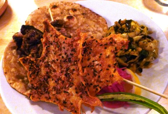 Tandoor chicken at Garland in Raleigh- NC Triangle Dining