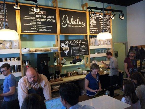Jubala Village Coffee in Lafayette Village, Raleigh- NC Triangle Dining