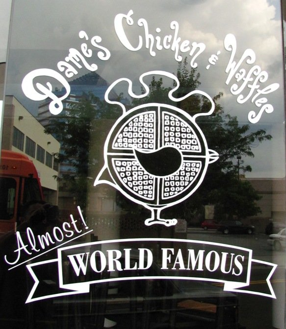 Dame's Chicken & Waffles in Durham- NC Triangle Dining