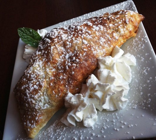 Dessert empanada at Calavera in Raleigh, NC Triangle Dining