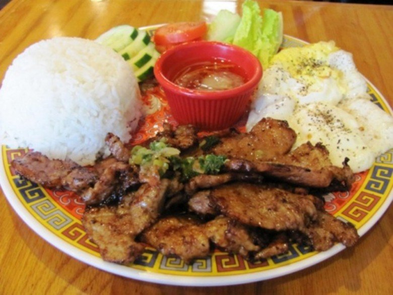 Grilled pork with rice at Pho Far East, Raleigh on NC Triangle Dining