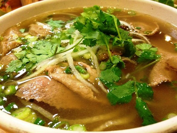 Bowl of pho at Pho Far East, Raleigh on NC Triangle Dining