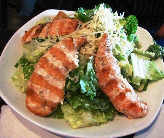 Caesar salad at Tobacco Road Sport in Durham, NC Triangle Dining