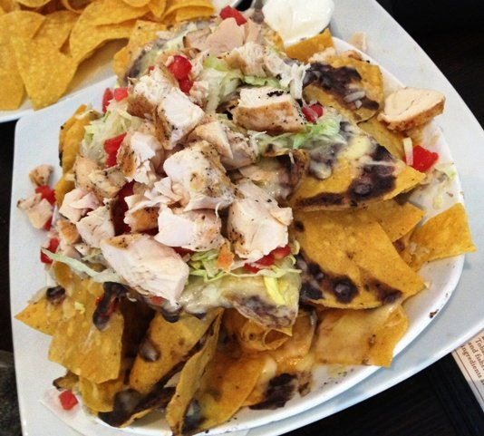 Nachos at Tobacco Road Sport in Durham, NC Triangle Dining