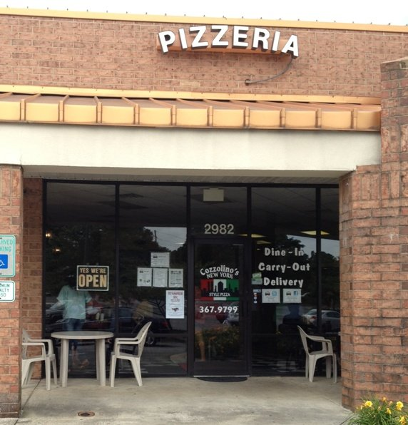 A slice of new york in cary cozzolino 39 s pizza nc for An new world cuisine cary nc