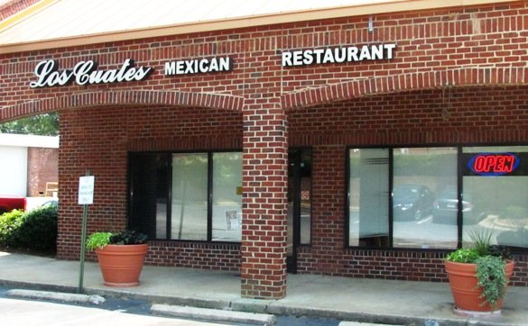 Front of Los Cuates in Raleigh, NC Triangle Dining