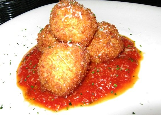 Arancini at Gravy in Raleigh, NC Triangle Dining