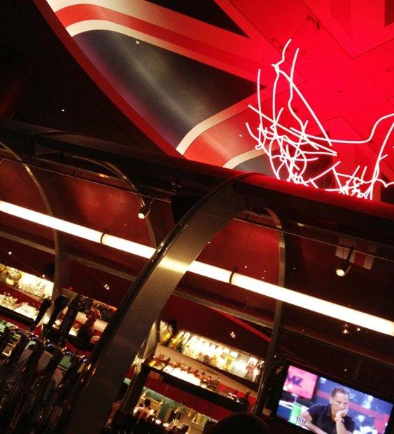 Bar at Gordon Ramsay's Steak in Las Vegas, NC Triangle Dining