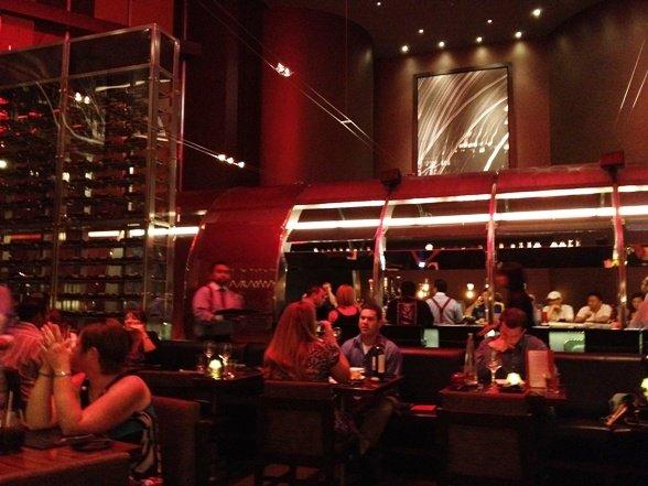 Interior at Gordon Ramsay's Steak in Las Vegas, NC Triangle Dining