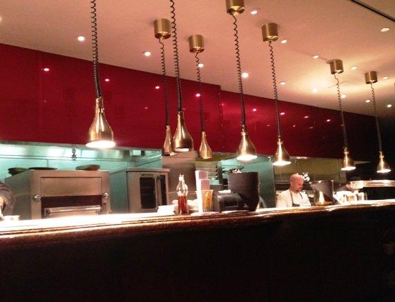Kitchen at Gordon Ramsay's Steak in Las Vegas, NC Triangle Dining