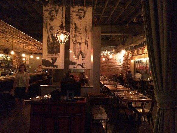 Cozy interior at Bida Manda in Raleigh - NC Triangle Dining