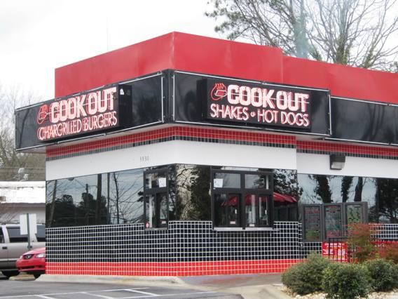 Cook Out on Western Blvd in Raleigh, NC Triangle Dining