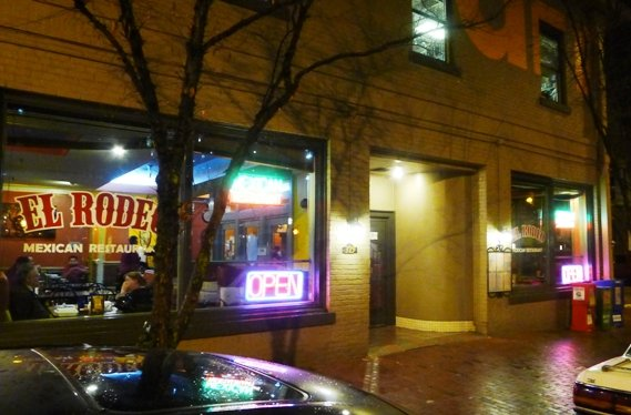 Front of El Rodeo in Raleigh, NC Triangle Dining