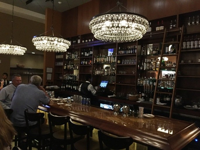 Lux bar at Nana Steak in Durham- NC Triangle Dining