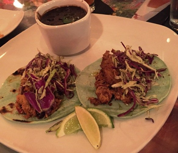 Tinga tacos at the Fiction Kitchen, Raleigh- NC Triangle Dining