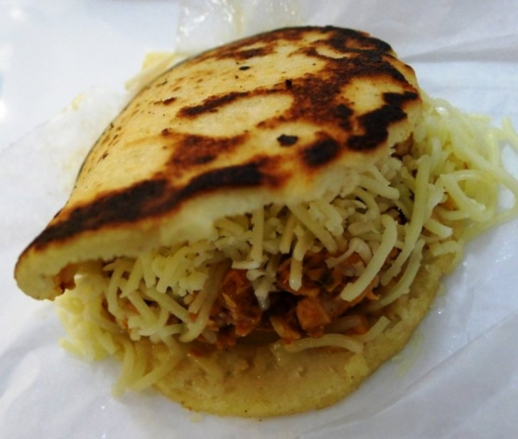 Arepa at Guasaca in Raleigh, NC Triangle Dining