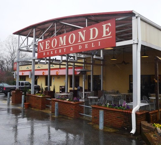 Front of Neomonde, Raleigh- NC Triangle Dining