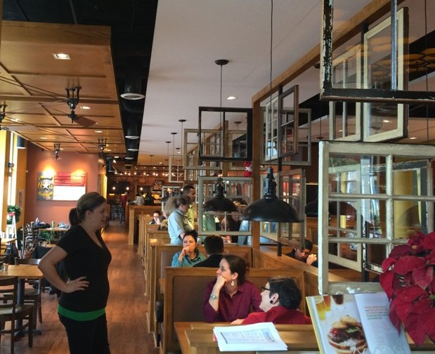 Inside of Tupelo Honey Café- NC Triangle Dining