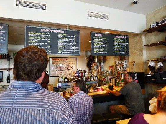 Interior of Cochon Butcher in New Orleans, NC Triangle Dining