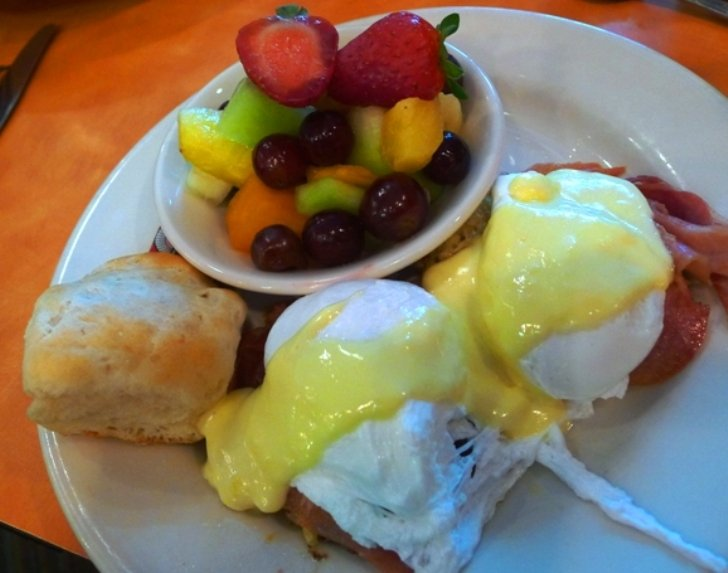Coastal benedict at NOFO in Raleigh, NC Triangle Dining