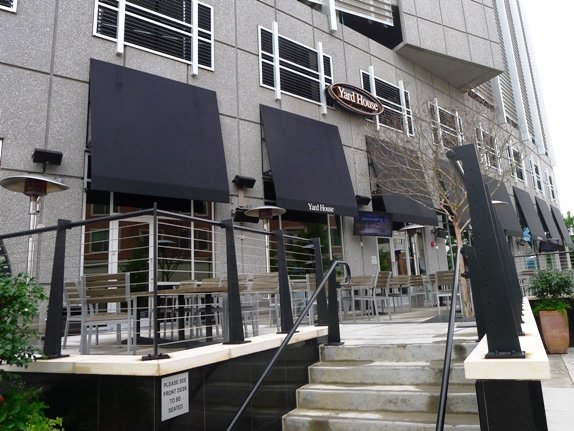 Patio at Yard House, Raleigh- NC Triangle Dining