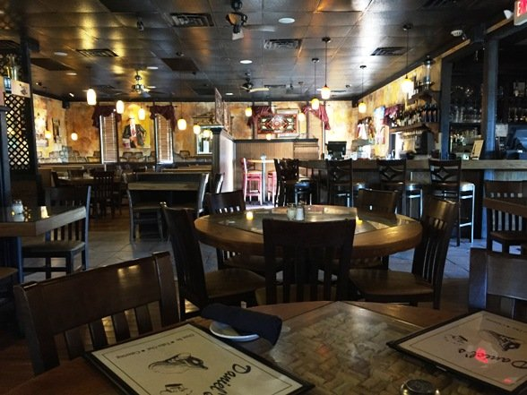 Dining area at Daniel's in Apex, NC Triangle Dining