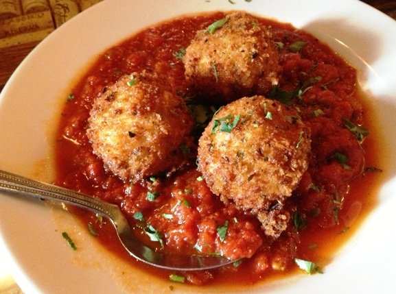 Arancini at Daniel's in Apex, NC Triangle Dining