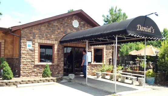 Front of Daniel's in Apex, NC Triangle Dining