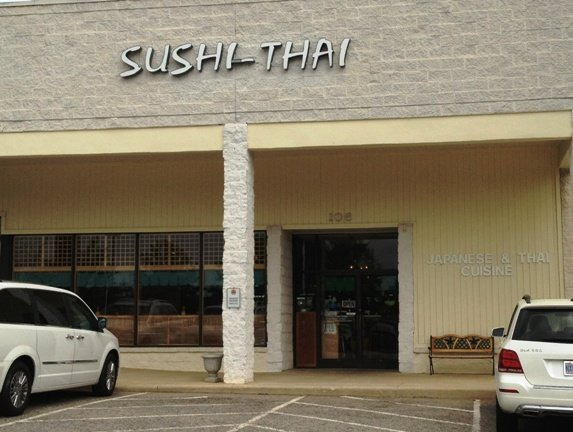 Front of Sushi-Thai, Cary- NC Triangle Dining