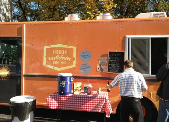 American Meltdown food truck in Raleigh, NC Triangle Dining
