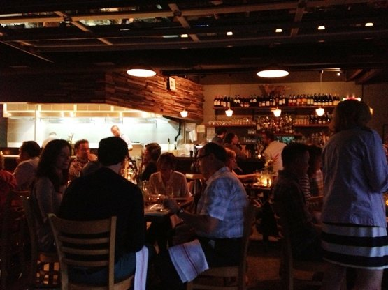 Cool interior at the Stanbury in Raleigh- NC Triangle Dining