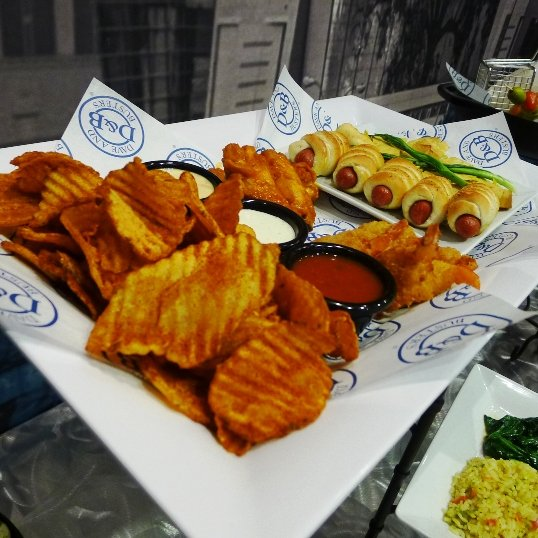 Appetizers at Dave and Busters, Cary- NC Triangle Dining