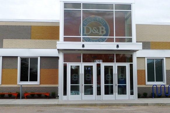 Front of Dave and Busters, Cary- NC Triangle Dining