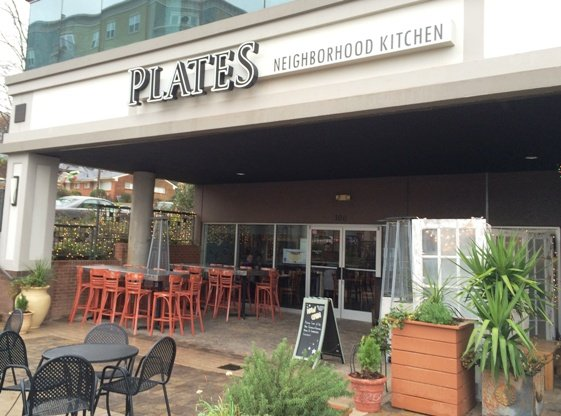 Front of Plates Neighborhood Kitchen in Raleigh, NC Triangle Dining
