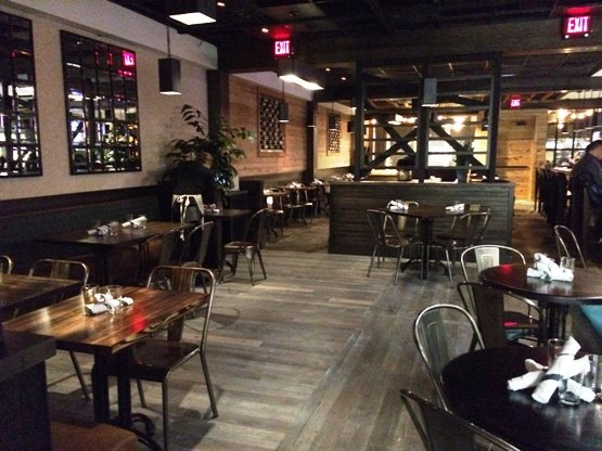 Inside of Tazza Kitchen in Raleigh, NC Triangle Dining