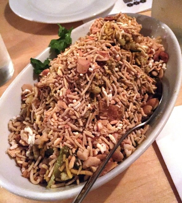 Bhel puri at Garland in Raleigh- NC Triangle Dining
