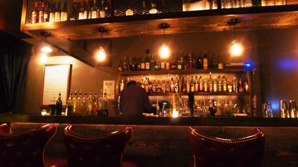 Classic bar at the Greenlight, Raleigh- NC Triangle Dining