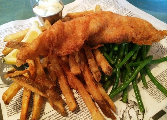 Fish and chips at Doherty's Irish Pub, Cary- NC Triangle Dining
