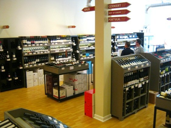 Inside of Raleigh Wine Shop, NC Triangle Dining