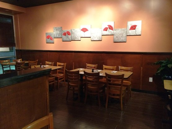 Dining room at Red Pepper Asian in Raleigh-  NC Triangle Dining
