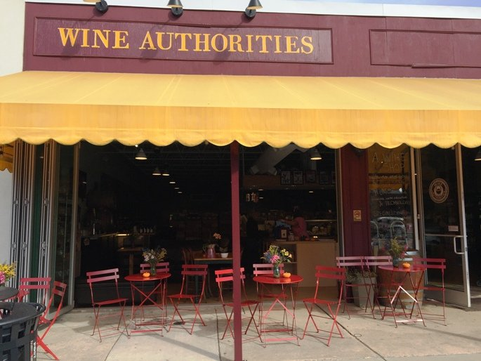 Front of Wine Authorities, NC Triangle Dining