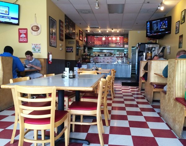 Inside of Pizza Dude in Apex, NC Triangle Dining
