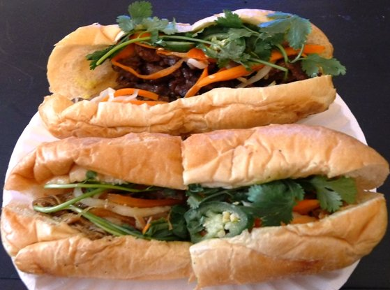 Banh mi from Taste Vietnamese in Morrisville, NC Triangle Dining