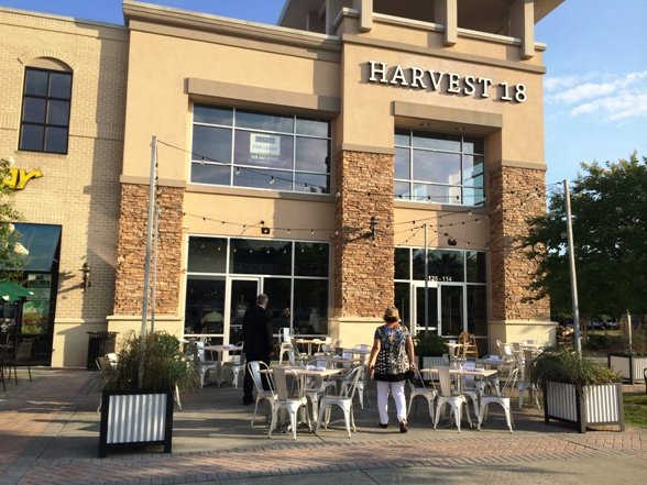 Front of Harvest 18, Durham- NC Triangle Dining