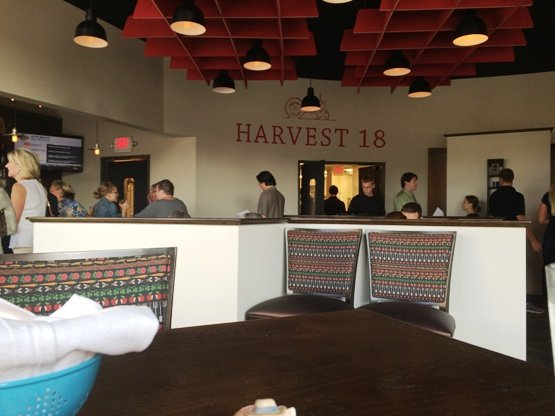 Inside of Harvest 18, Durham- NC Triangle Dining