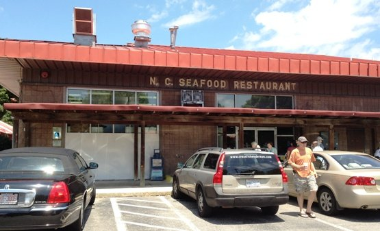 Seafood restaurant at NC State Farmers Market in Raleigh- NC Triangle Dining