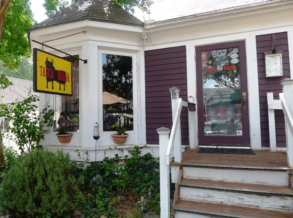 Front of Tasca Brava in Raleigh- NC Triangle Dining