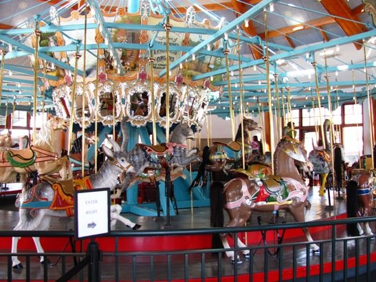 Carousel at Pullen Park, Raleigh- NC Triangle Dining